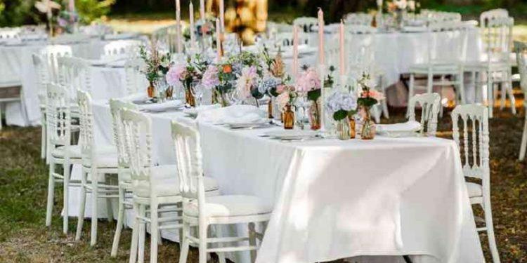 Décoration de mariage en extérieur trouvez des idées originales